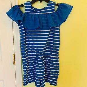 New Nautica stripped jumpsuit